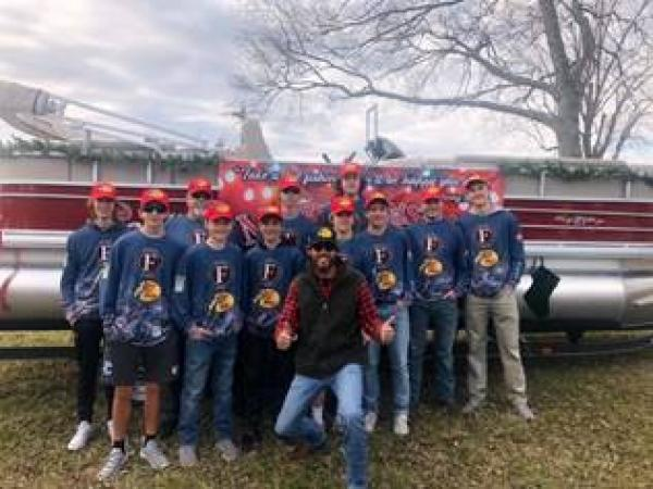 "ACM AWARD WINNER CHRIS JANSON SPREADS ""GOOD VIBES"" HANDING OUT RODS AND REELS AT LEIPER'S FORK CHRISTMAS PARADE"