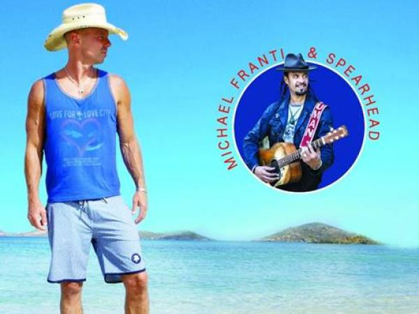 KENNY CHESNEY ANNOUNCES AMPHITHEATER CHILLAXIFICATION