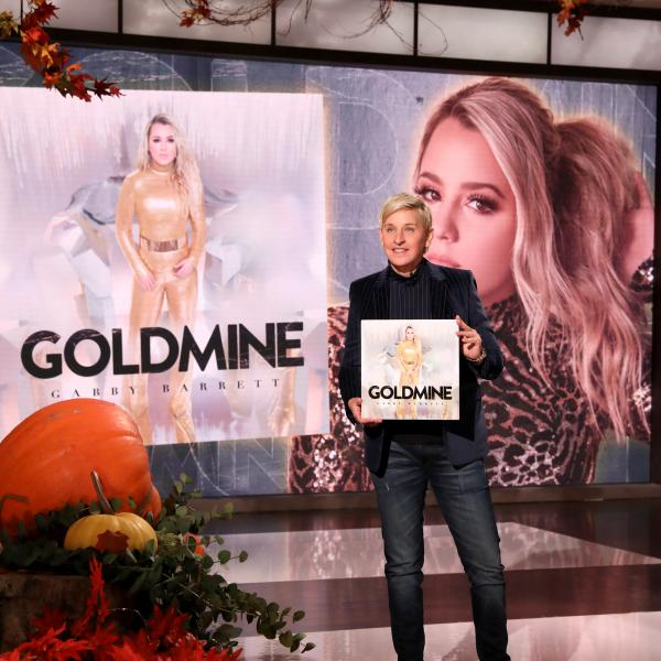 IN CASE YOU MISSED IT: GABBY BARRETT SPARKLES ON ELLEN